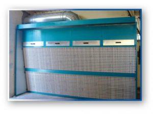 Cabina di verniciatura a secco di metri 4 la p g for Cabina di 300 piedi quadrati